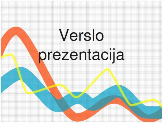 Prezentacija (verslo, PowerPoint)