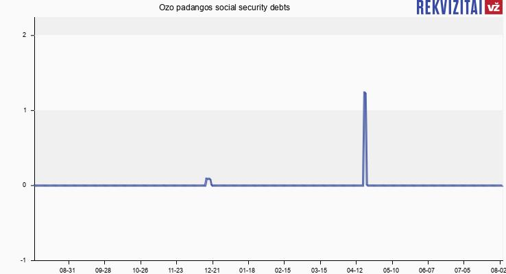 Ozo padangos social security debts
