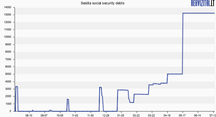 Seslita social security debts