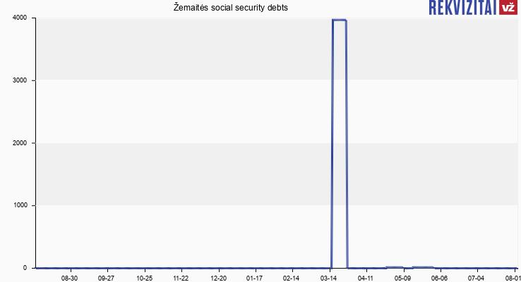 Žemaitės social security debts