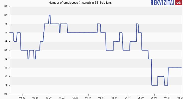 3B Solutions personnel. Rekvizitai.lt