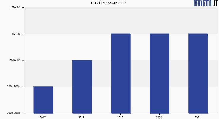 BSS IT turnover, EUR