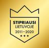 Stipriausi Lietuvoje 2011-2020