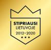 Stipriausi Lietuvoje 2012-2020