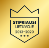 Stipriausi Lietuvoje 2013-2020