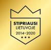 Stipriausi Lietuvoje 2014-2020