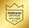 Stipriausi Lietuvoje 2015-2020