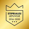 Stipriausi Lietuvoje 2016-2020