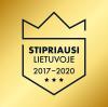 Esame stipriausi Lietuvoje 2017–2020