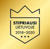 Stipriausi Lietuvoje 2018-2020