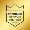 Stipriausi Lietuvoje 2019-2020