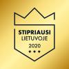 Stipriausi Lietuvoje 2020