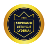 Stipriausi Lietuvoje Lyderiai 2021