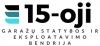15-oji Garažų Statybos ir Eksploatavimo Bendrija logotipas