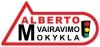 Alberto vairavimo mokykla UAB логотип