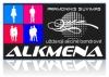 Alkmena, UAB logotipas