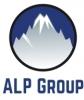 """UAB """"ALP GROUP"""" logotipas"""