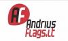 ANDRIUS FLAGS LT, MB logotipas