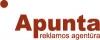 """UAB """"APUNTA"""" logotyp"""