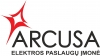 Arcusa, UAB logotyp