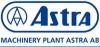 """Mašinų gamykla """"Astra"""", AB logotipas"""