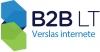 """UAB """"B2B LT"""" logotipas"""