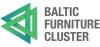 """Asociacija """"Baltijos baldų klasteris"""" logotype"""