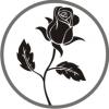 Baltoji rožė LT, UAB logotipas