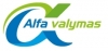 Alfa valymas, UAB logotipas
