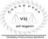 Consensus ad legem, VšĮ логотип