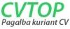 CVtop.lt logotyp