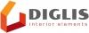 Diglis, UAB logotyp