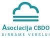 Dirbame verslui, asociacija logotipas