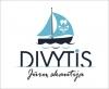 """Jūrų skautija """"Divytis"""" logotipas"""