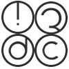 3dc, UAB logotipas
