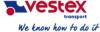 Vestex transport, UAB логотип