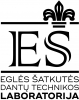 """UAB """"E. Šatkutės dantų technikos laboratorija"""" logotipas"""