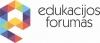 Edukacijos forumas, VšĮ logotipas