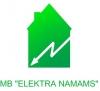 Elektra namams, MB logotipas