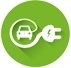 Elektromobilių centras, MB logotyp
