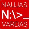 """Elektroninių knygų leidėjų asociacija """"Naujas vardas"""" logotipas"""