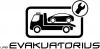 Evakuatorius, UAB logotipas