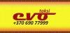 EVO TAKSI, MB logotipas
