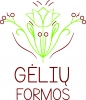 GĖLIŲ FORMOS logotipas