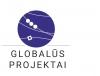 """VšĮ """"Globalūs projektai"""" logotipas"""