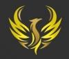 """GOLD PHOENIX"" tarptautinio labdaros fondo filialas logotipas"
