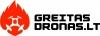 Greitas dronas, MB logotipas