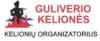 """""""Guliverio kelionės"""" Klaipėdos filialas, UAB logotipas"""