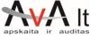 "IĮ ""AVA LT"" logotipas"