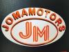 """IĮ """"Jomamotors"""" logotyp"""